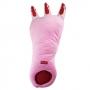 Подушка перчатка в виде Страшной лапы медведя 70 см