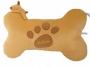 Подушка в виде Косточки и маленькой собачки