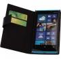 Кожаный чехол для Nokia Lumia 920 Черный