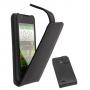 Кожаный чехол для ZTE V955 N880G черный Наложенным платежом СКИДКА!!!