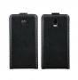 Кожаный чехол для ZTE V955 N880G Черный