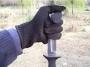 Защитные перчатки от порезов из высококачественного полиэфирного волокна и нержавеющей стали
