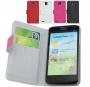 Кожаный чехол для Huawei U9500 Ascend D1 2 цвета Наложенным платежом СКИДКА!!!