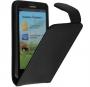 Кожаный чехол для Huawei U9500 Ascend D1 черный Наложенным платежом СКИДКА!!!
