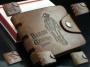 Кожаный мужской кошелек портмоне Ковбой Bailini 6 видов