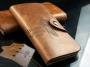Кожаный мужской кошелек портмоне Ковбой Bailini 2 вида
