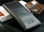 Кожаный мужской кошелек портмоне Woerfu 2 цвета