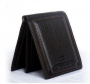 Кожаный мужской кошелек портмоне Pidengbao с выдвижным отсеком