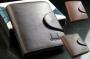 Кожаный мужской кошелек портмоне Shaishi 3 цвета