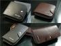 Кожаный мужской кошелек портмоне 4 вида