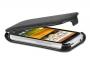 Кожаный чехол вертикальный HTC Desire C черный Наложенным платежом