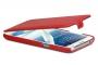 Кожаный чехол вертикальный Samsung N7100 Galaxy Note 2 красный Наложенным платежом