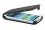 Кожаный чехол вертикальный Samsung i9300 Galaxy S3 черный Наложенным платежом