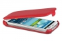 Кожаный чехол вертикальный Samsung i9300 Galaxy S3 красный Наложенным платежом