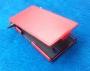 Кожаный чехол вертикальный Sony Xperia L36h красный Наложенным платежом