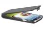 Кожаный чехол вертикальный Samsung i9500 Galaxy S4 черный Наложенным платежом