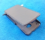 Кожаный чехол вертикальный HTC One черный Наложенным платежом