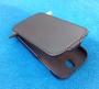Кожаный чехол вертикальный HTC One ST T528t черный Наложенным платежом