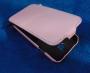 Кожаный чехол вертикальный Samsung i9500 Galaxy S4 розовый Наложенным платежом