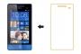 Защитная пленка для HTC Windows Phone 8S глянцевая Наложенным платежом