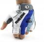 Перчатки без пальцев противоскользящие M L XL три размера
