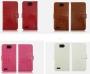 Кожаный чехол для ZTE Grand Memo V9815 4 цвета + защитная пленка