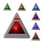 Цифровые часы будильник с термометром в форме пирамиды с подсветкой TK0614 Наложенным платежом