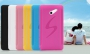 Силиконовый бампер чехол для Huawei Ascend D2 6 цветов