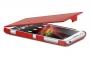 Кожаный чехол вертикальный Sony Xperia L35h красный Наложенным платежом