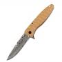 Складной нож Ganzo G620y-2 клинок с травлением Желтый