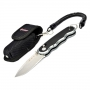 Складной нож Ganzo G715 440C (58-60 HRC) + Подарок Чехол на ремень
