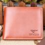 Кожаный мужской кошелек портмоне SeptWolves Коричневый