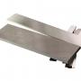 Пластина стальная для изготовления клинка. Сталь W4Mo2Cr4V1, твердость HRC58-60